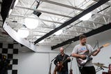 A brief look at the White Wall Sessions. Music by Velcro Ultrasound