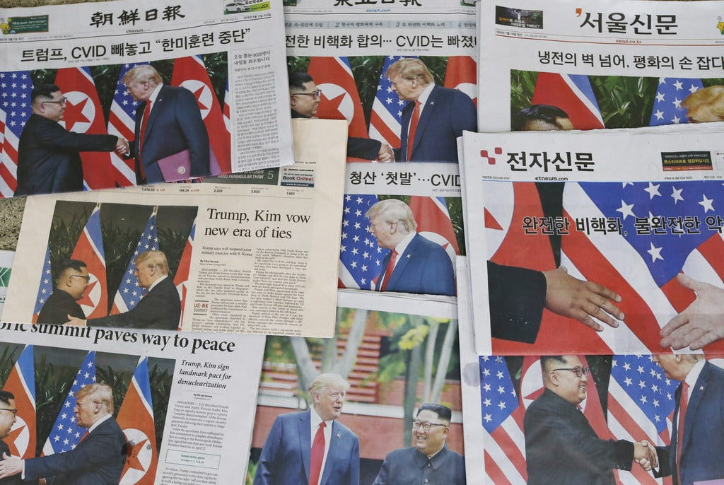 North Korea media said Trump agreed to lift sanctions. That's not exactly true