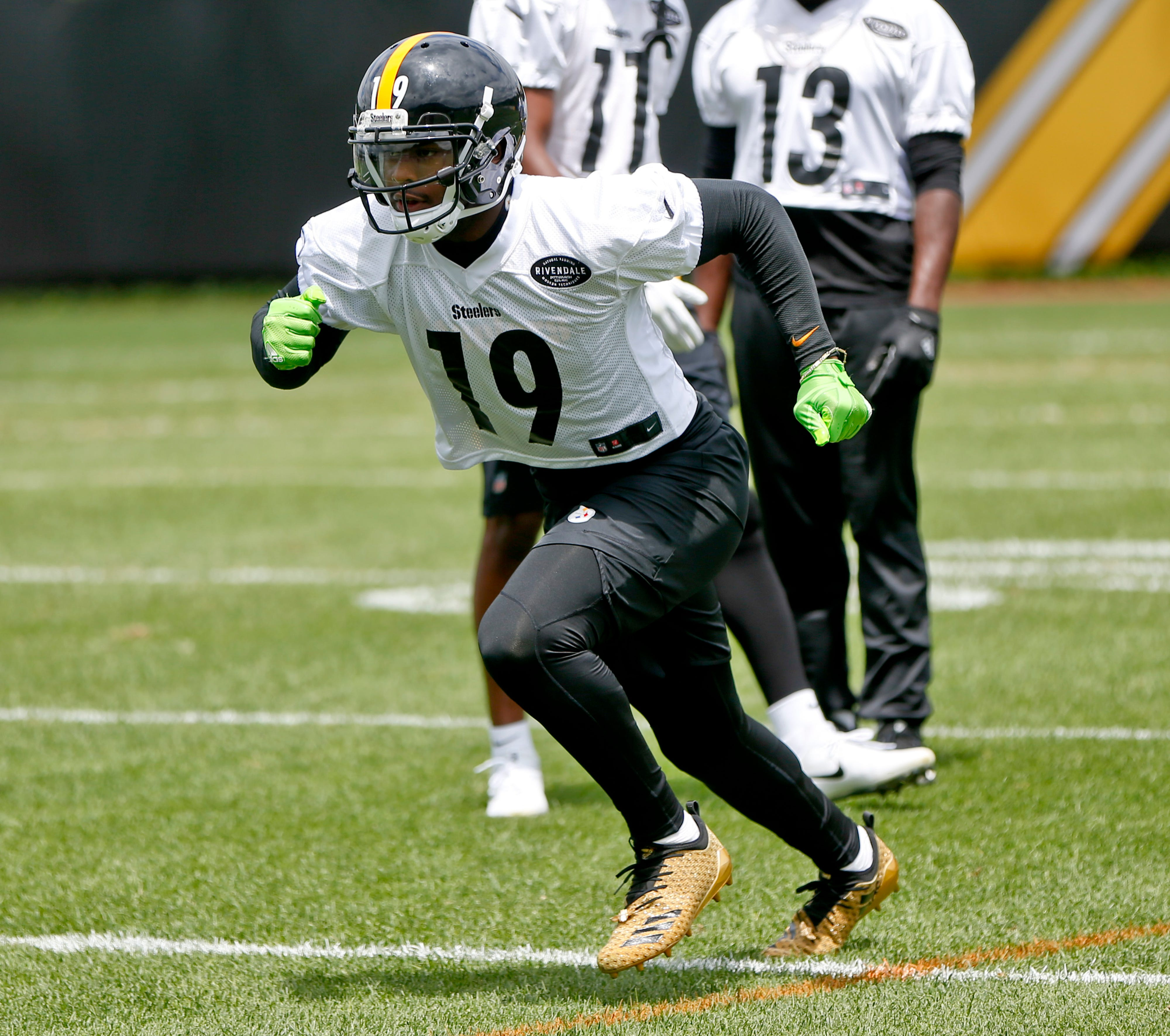 Steelers WR Smith-Schuster eyes bigger role in Year 2