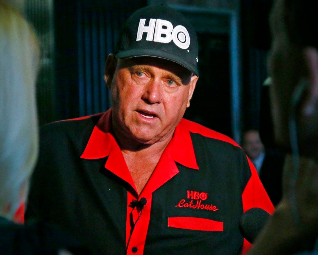 Dennis Hof, 'Cathouse' star and Nevada brothel owner-turned-politician, dies at 72