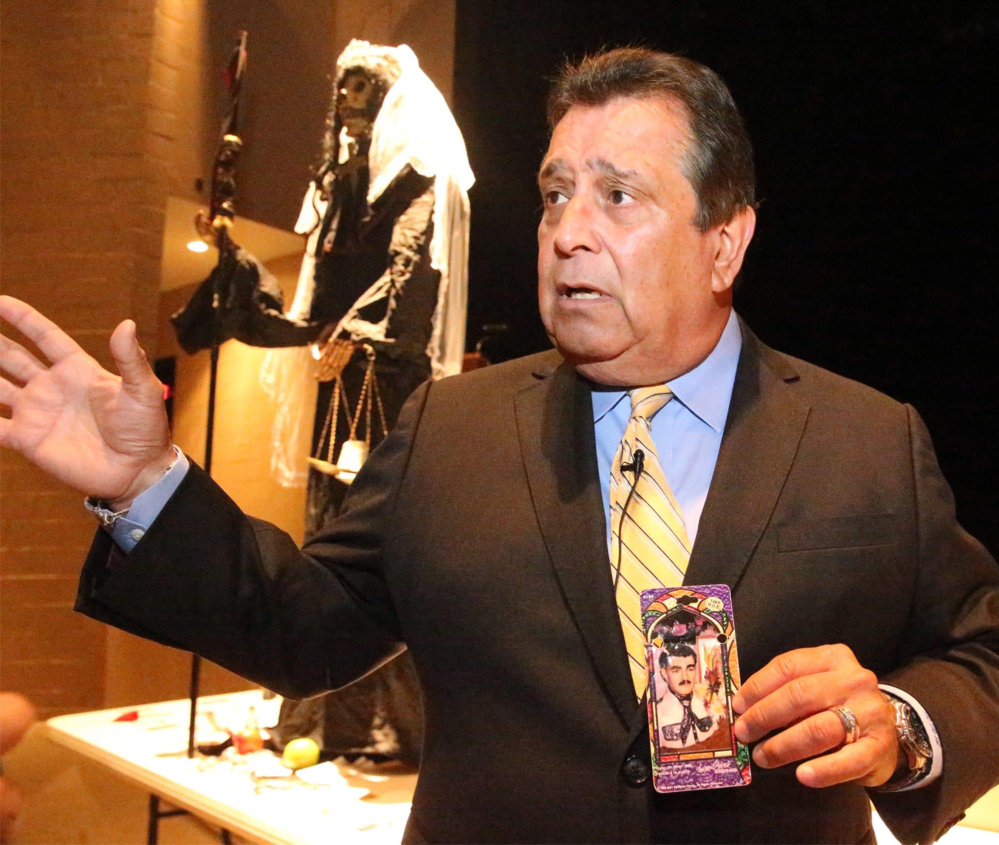 Who is Jesus Malverde? Question on narco-saint hangs over 'Chapo' Guzman drug cartel trial | El Paso Times