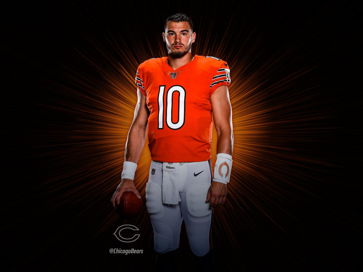 check out 44235 fe084 Chicago Bears bring back orange alternate jerseys for 2018 ...