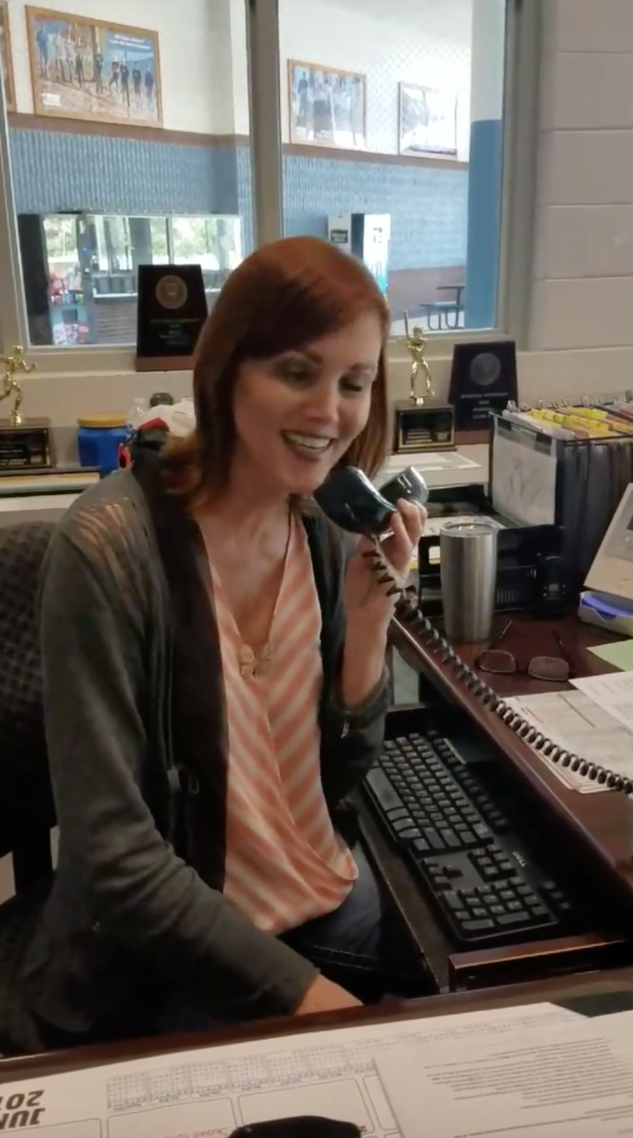 This school receptionist's stunning version of 'At Last' is how we all feel about summer