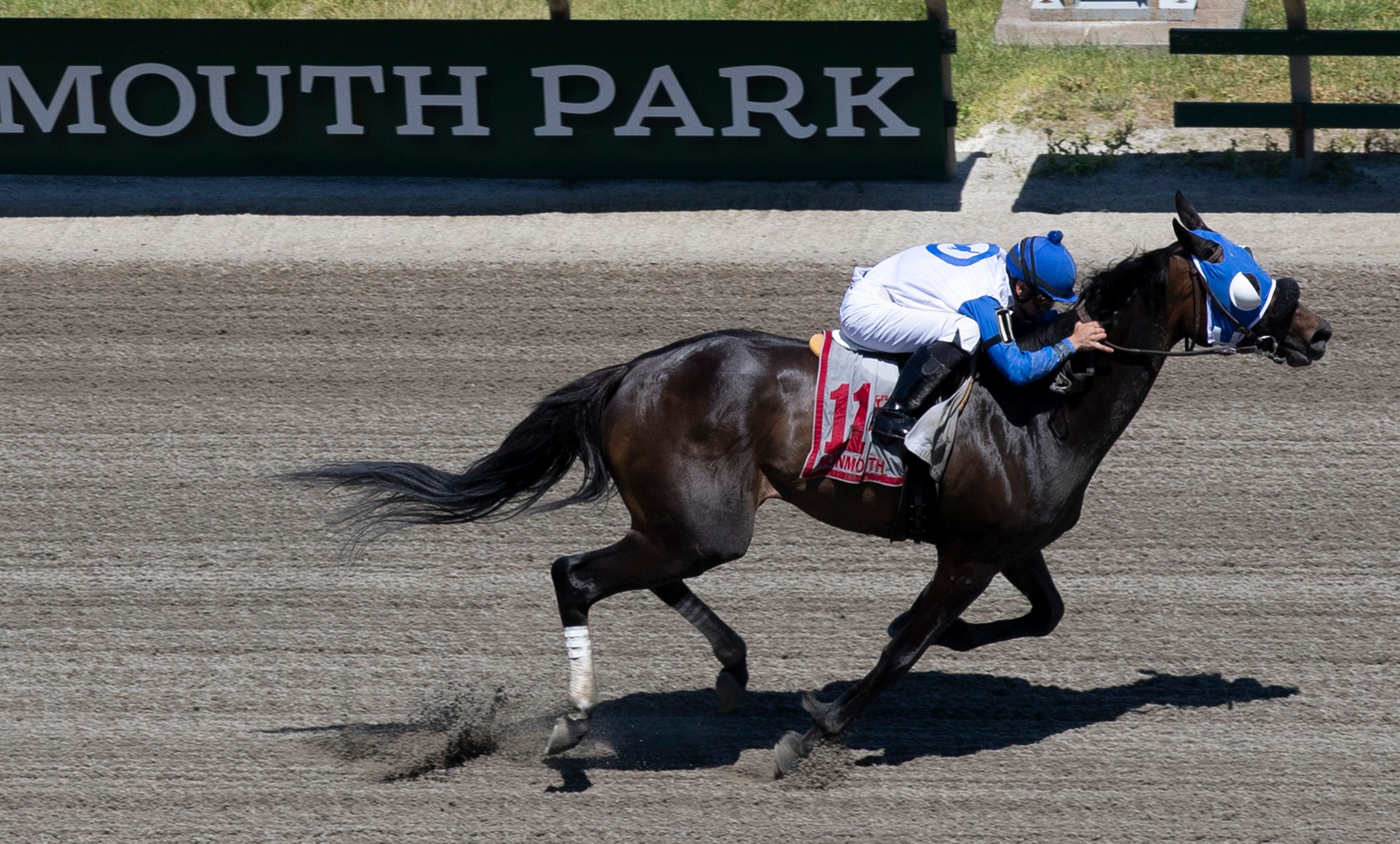 Father's Day draws crowds to Monmouth Park