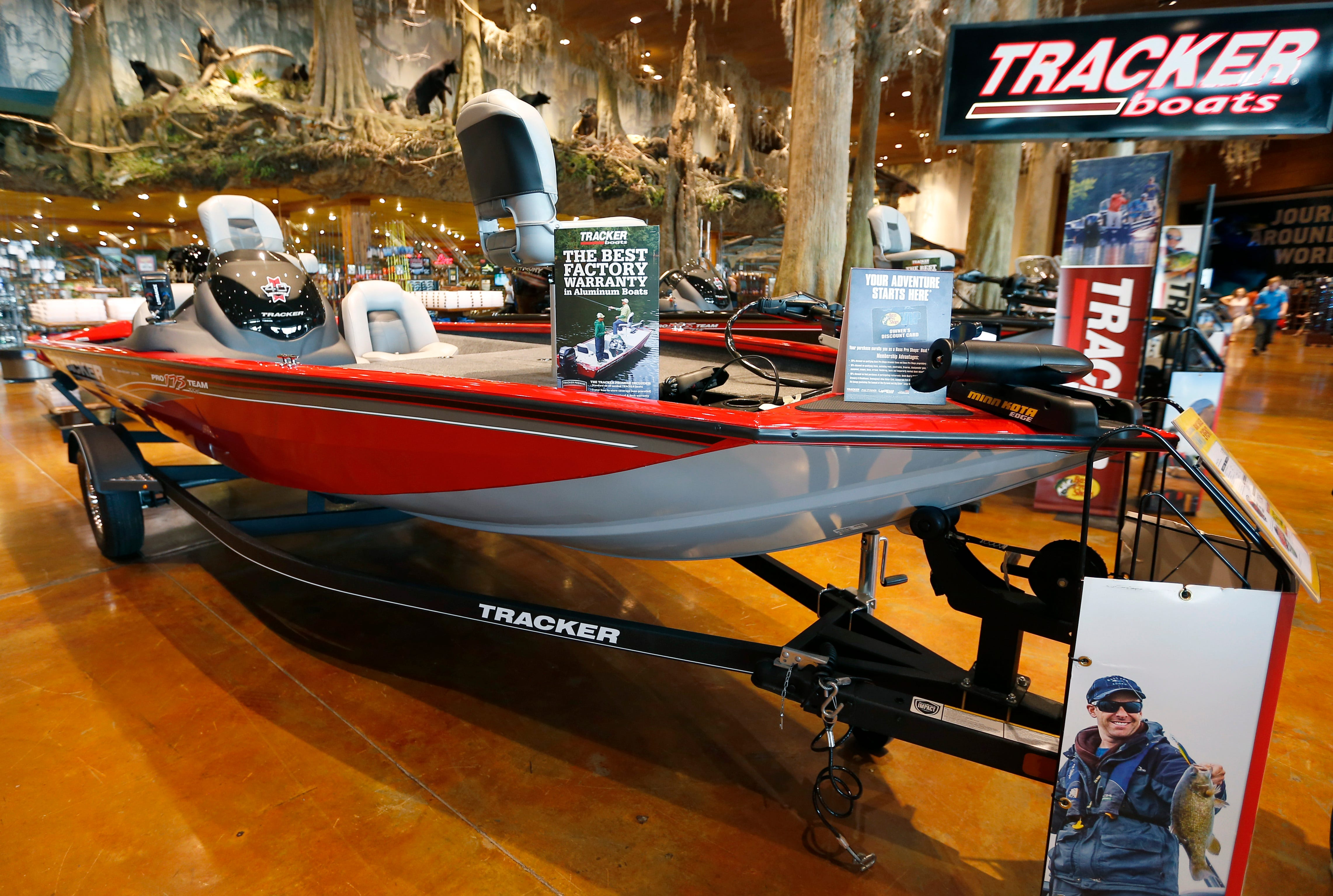 The five most popular varieties of bass boats on Ozarks waterways