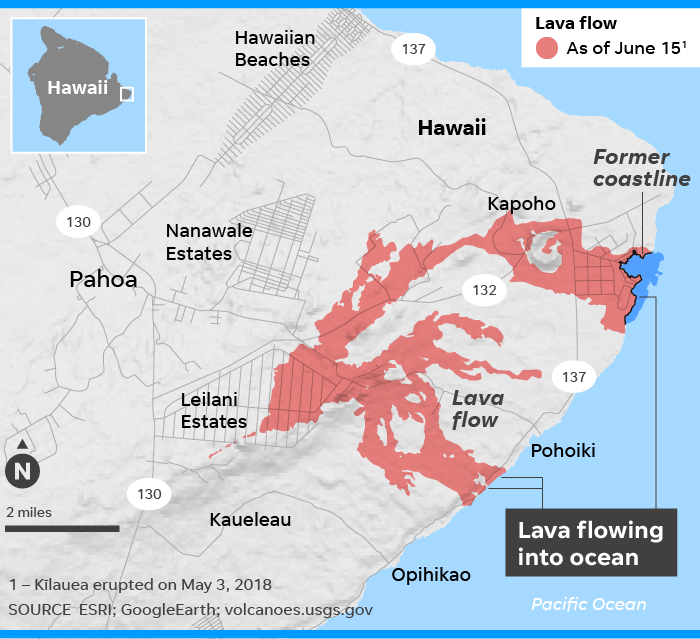 Lava river: Kilauea volcano fissure is spewing hotter, more