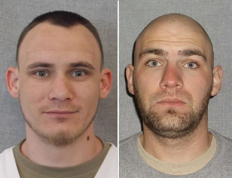 Two inmates escape from minimum-security Winnebago Correctional Center Image