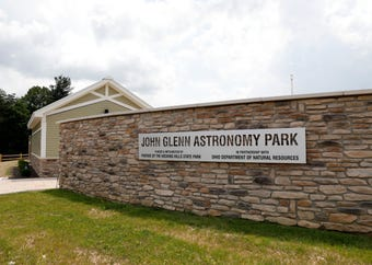 After years of planning the John Glenn Astronomy Park will open June 21 at Hocking Hills State Park near Logan.