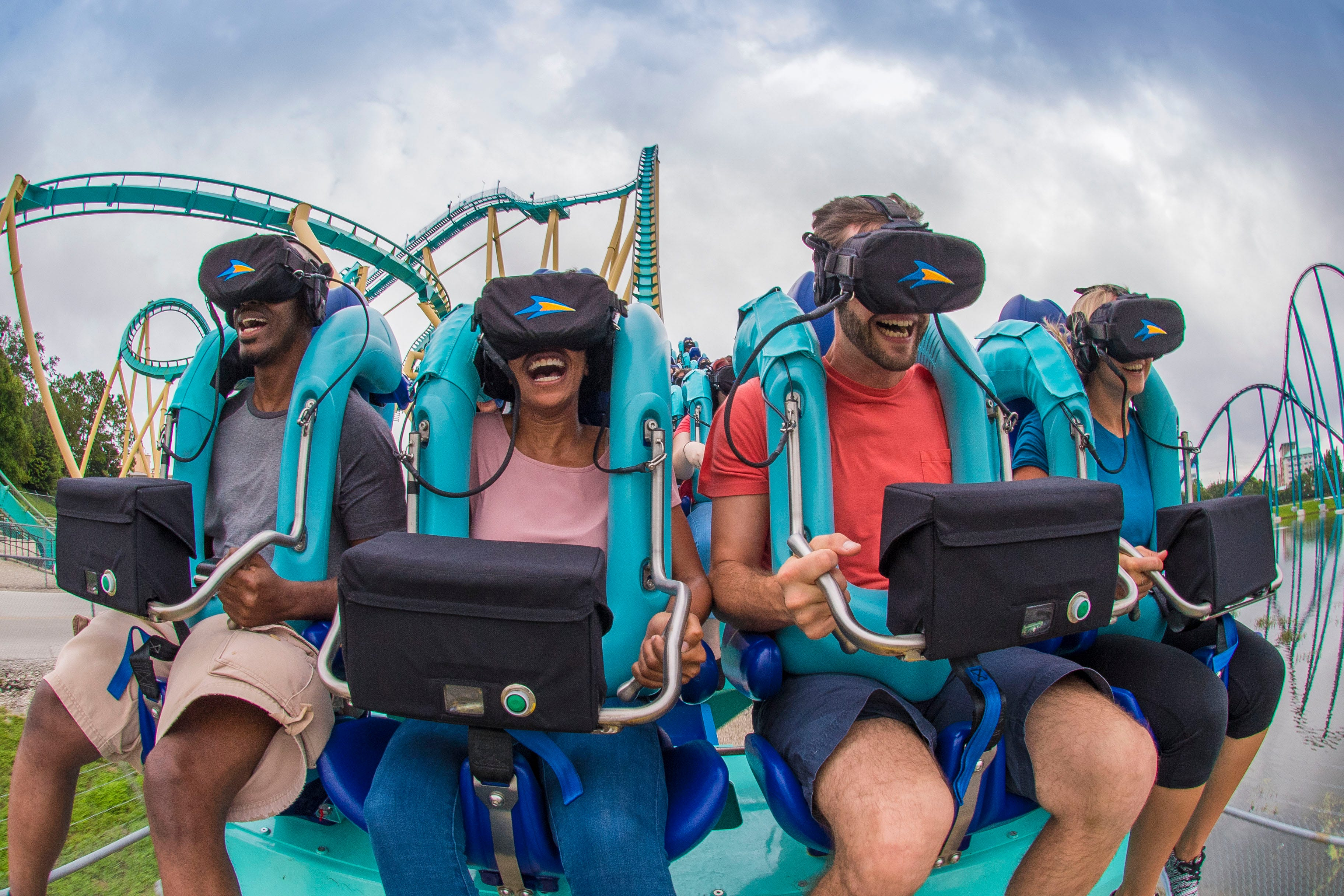 Virtual reality: VR tech added to theme park rides   USA Today