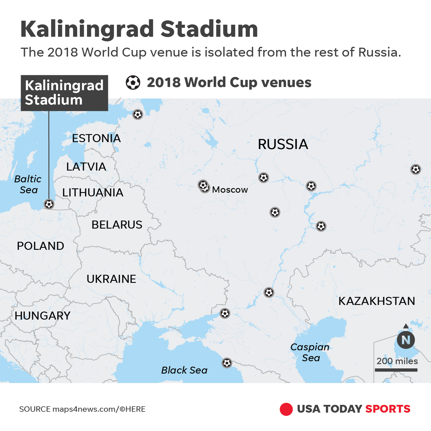 World Cup 2018: Kaliningrad is Russia's most unusual place on kaliningrad map with cities, kaliningrad port map, kaliningrad map of northern europe, city of kaliningrad russia map,