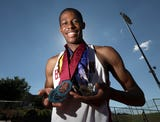 Robert Blue, Westchester/Putnam outdoor track and field athlete of the year June 19, 2018.