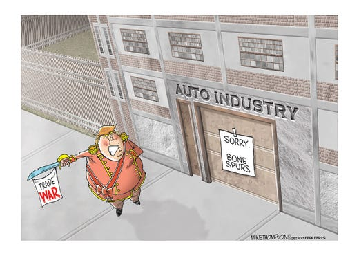 The auto industry isn't thrilled about Trump's trade war.