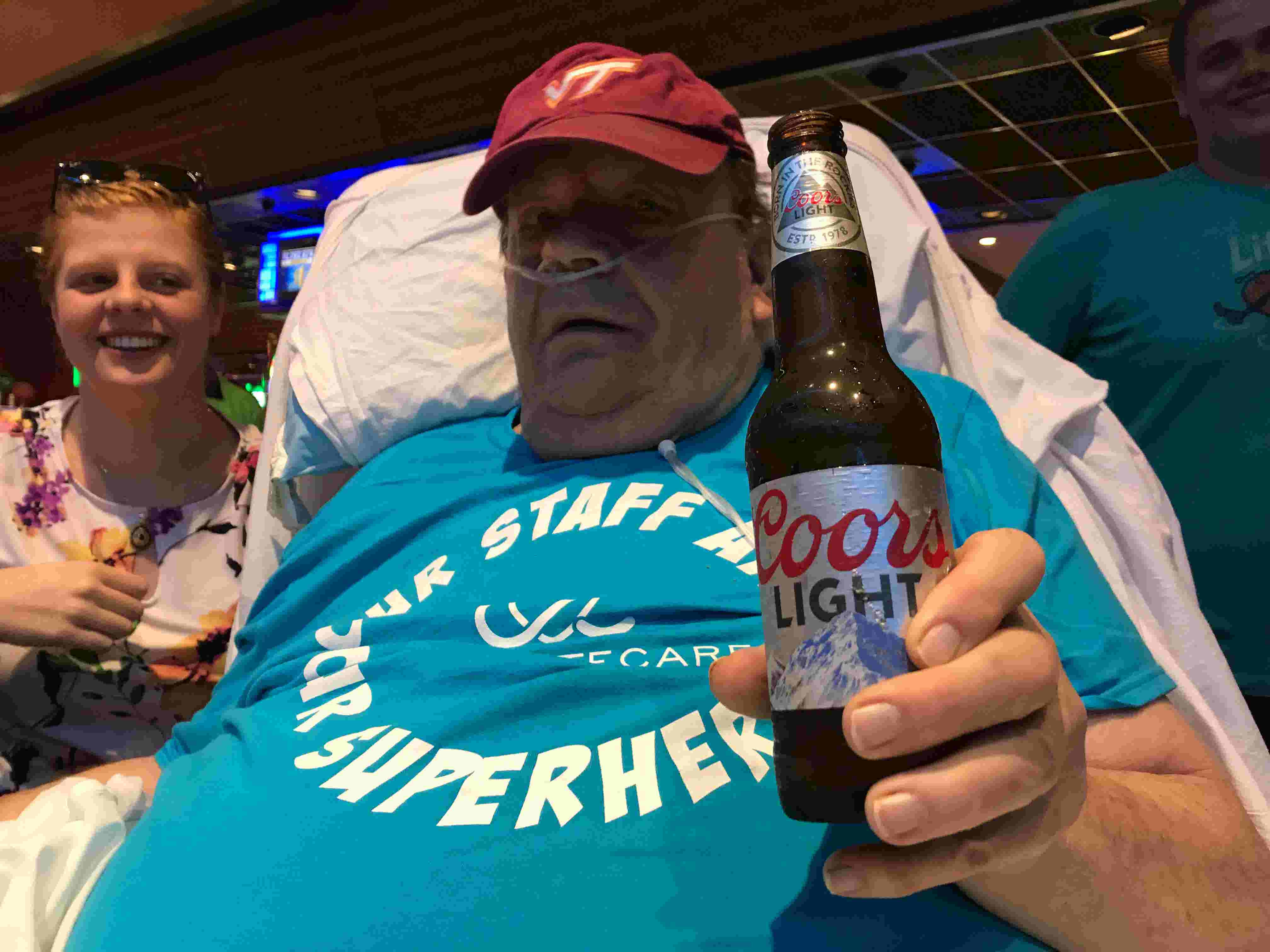 85cfa469a10 Dying wish granted  Cold beer and a game of blackjack in Atlantic City