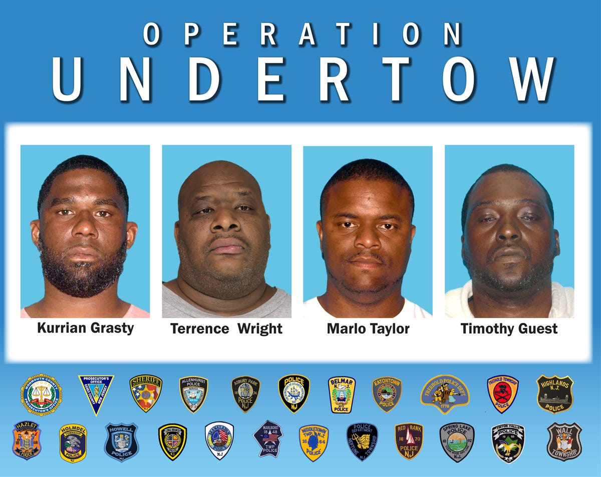 Monmouth County drug busts: A look at some of the biggest dealers