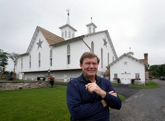 David Abel, who moved and rebuilt The Star Barn with his wife Tierney, talks about why they moved the structures and what is next.