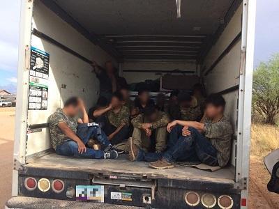 Arizona border agents find 18 migrants smuggled in box truck | Arizona Central