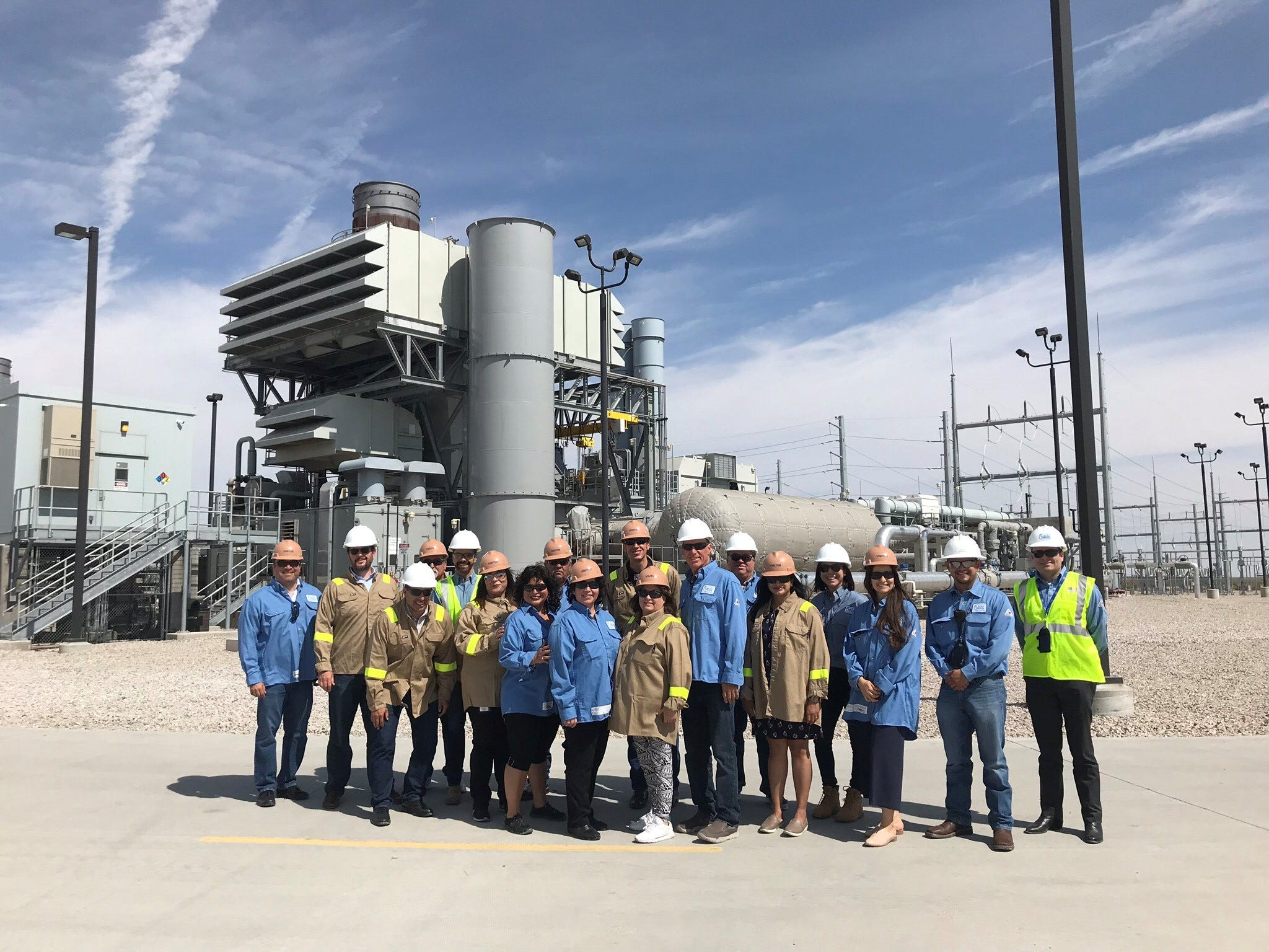 New Mexico lawmakers visit El Paso Electric facilities | Las Cruces Sun