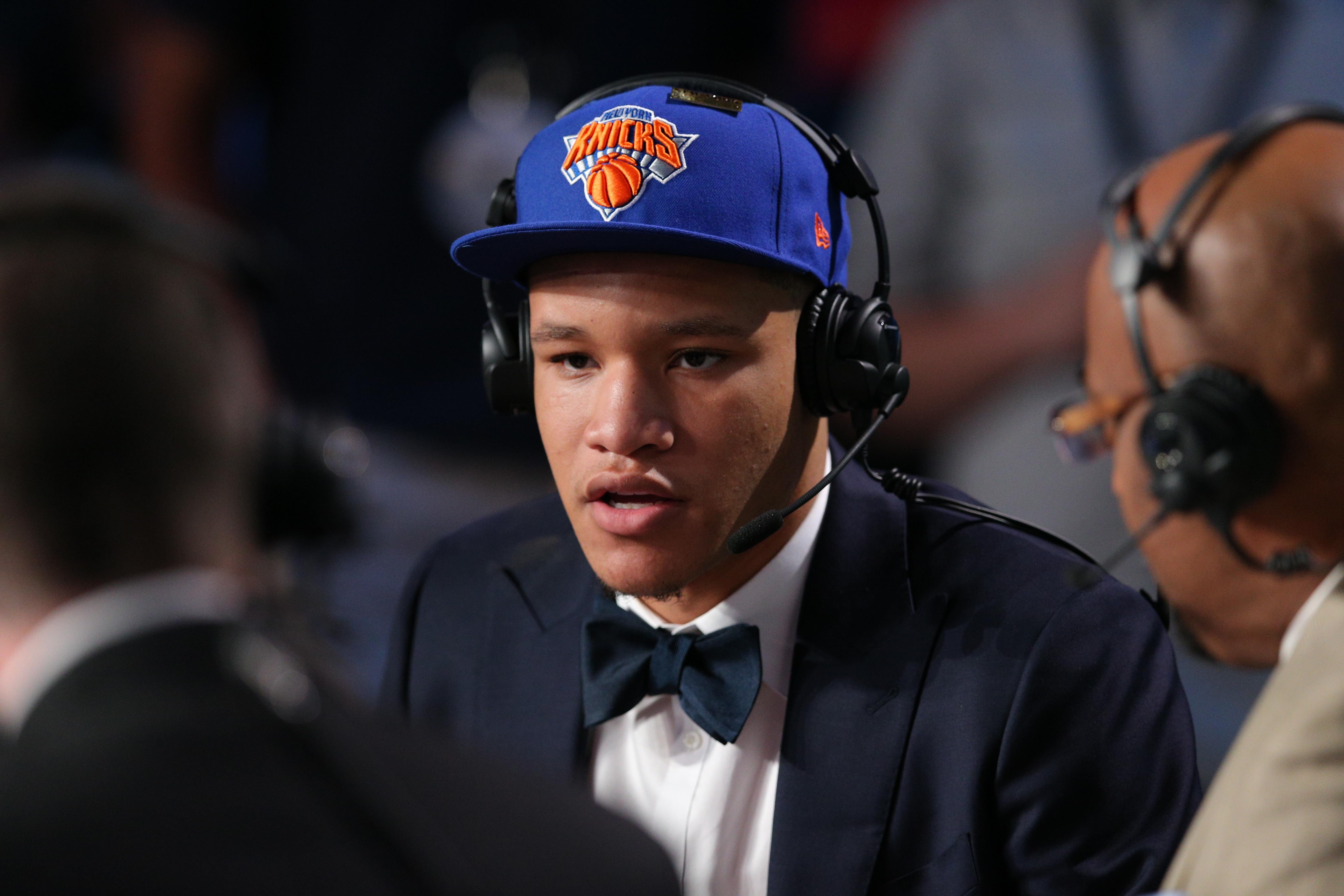 Did Kevin Knox tip New York Knicks pick before NBA draft?