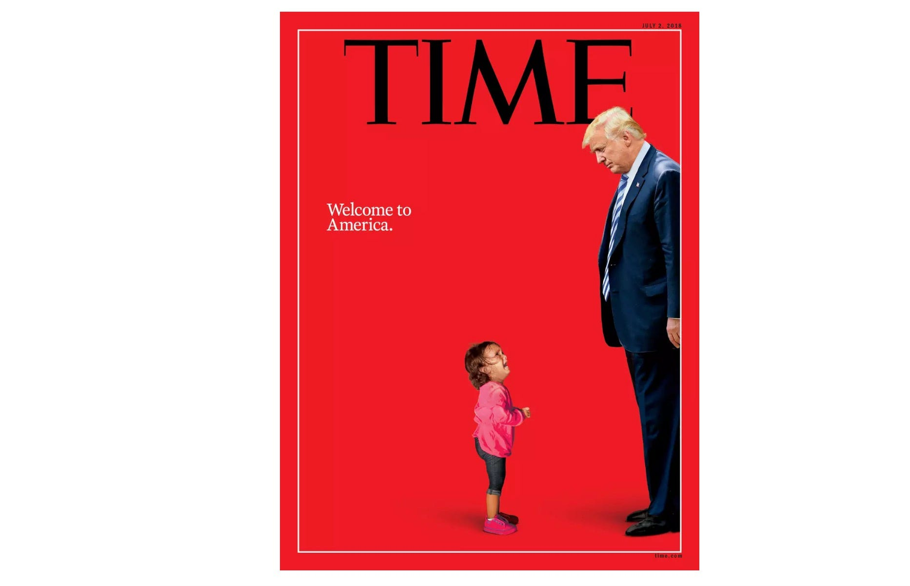 Crying immigrant girl on Time magazine cover was never separated from her mom, father says