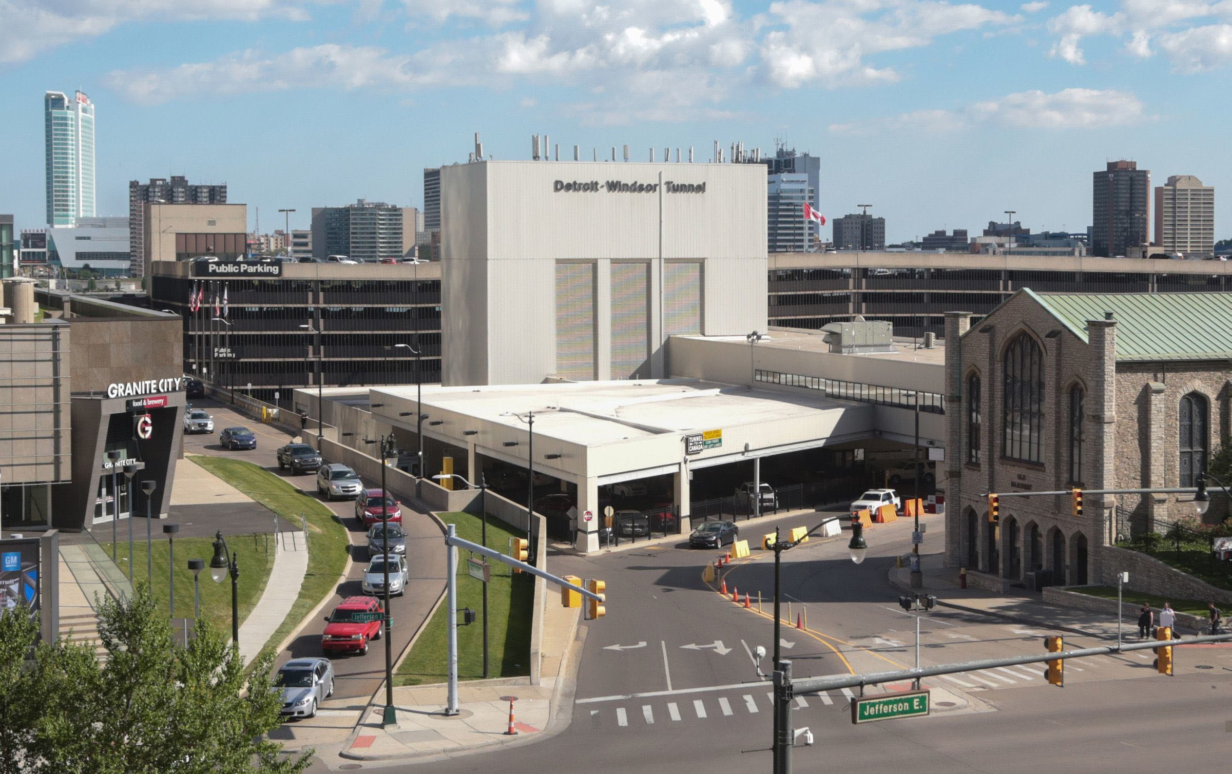 Detroit-Windsor Tunnel to close nightly through June July for renovations
