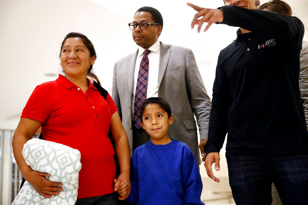 Migrant children: Separated from his mother, 7-year-old boy becomes one of first to be reunited