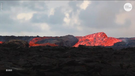Lava 'rapids' from Kilauea are flowing through Hawaii at 15 mph