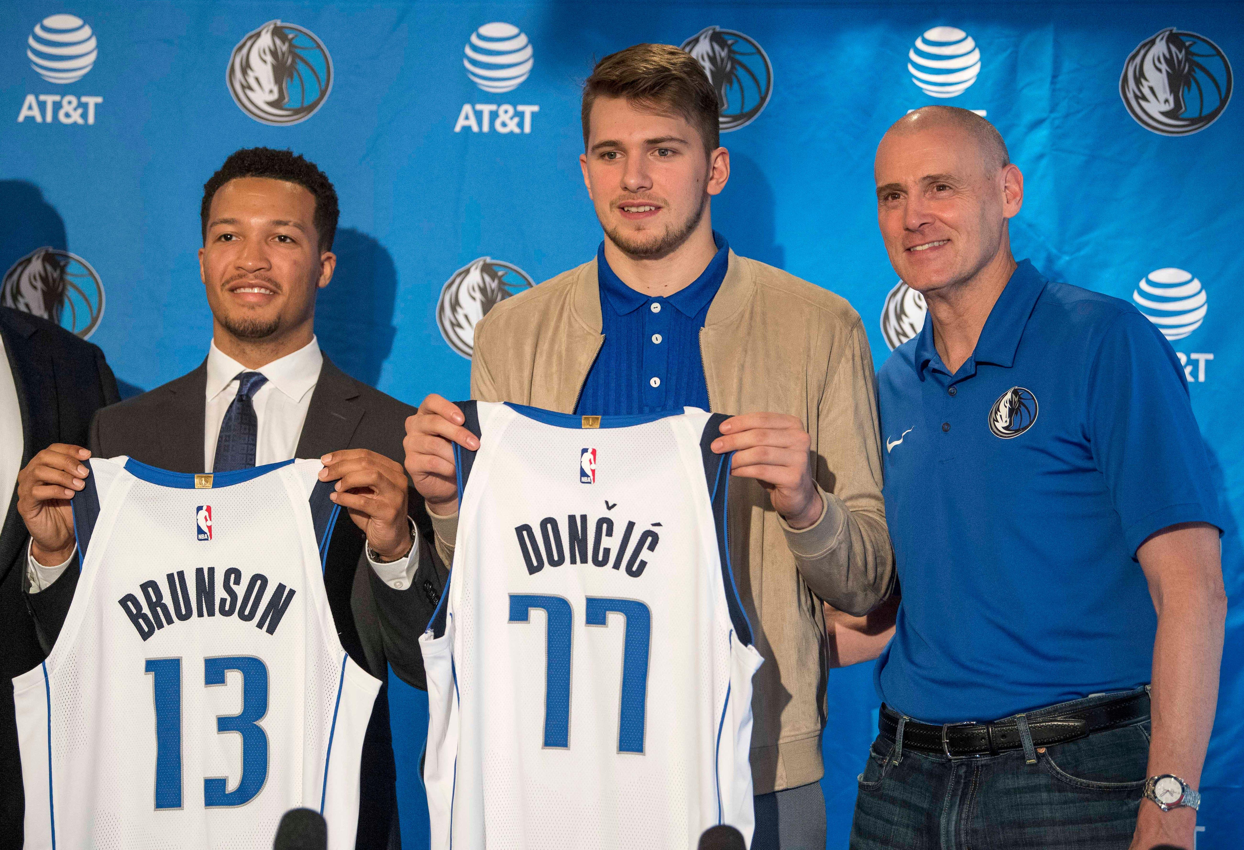 Mavericks believe European sensation Luka Doncic can be a cornerstone like Dirk Nowitzki