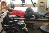 Will Thomas, of Cincinnati, talks about straightening up his life after a bullet put him in a wheelchair.