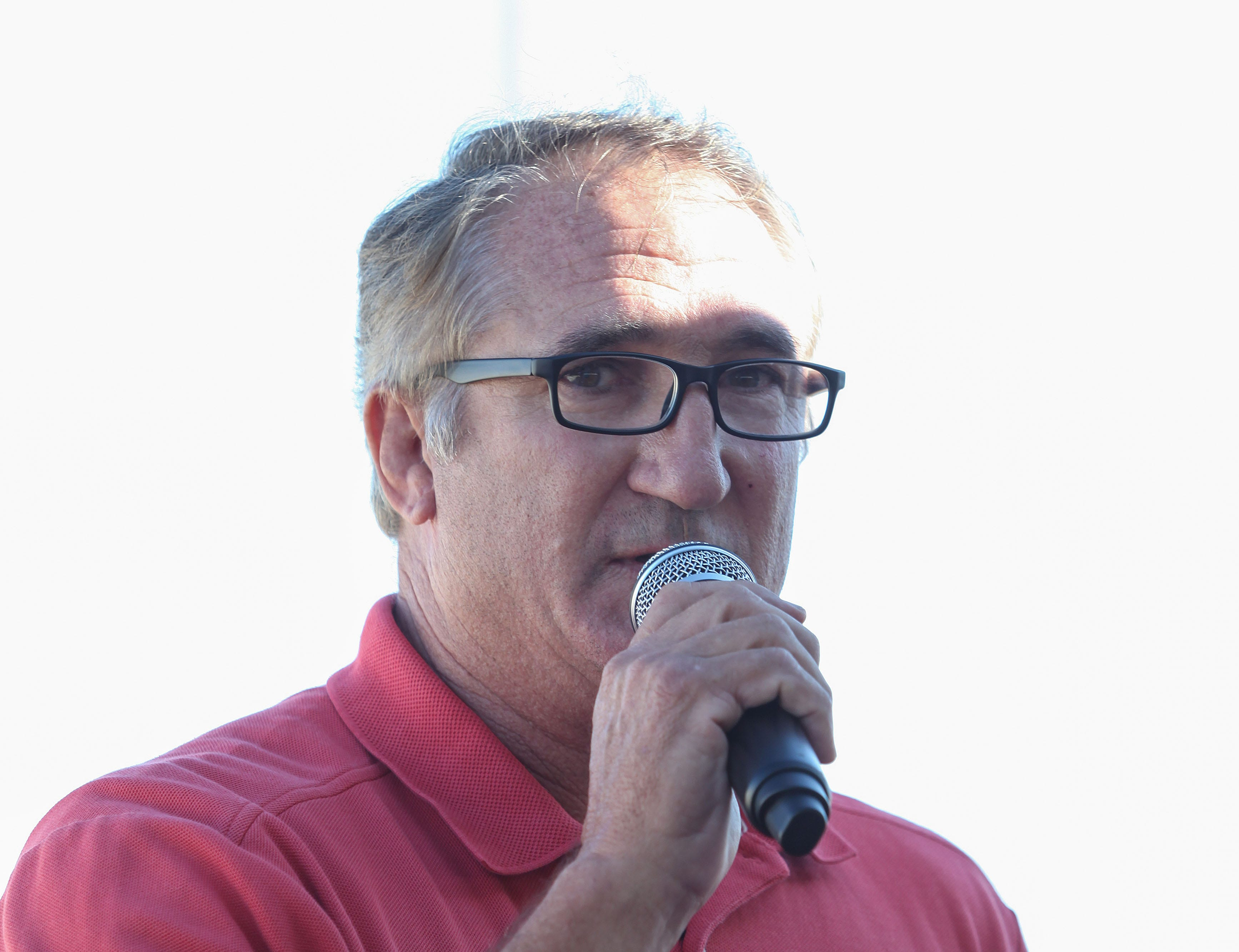 Mike Abatti speaks at a dedication ceremony for the Imperial Irrigation District's battery storage project on Oct. 26, 2016.