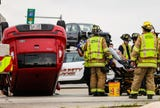 Minor injuries were reported as a result from a two vehicle crash at the intersection of Johnson Street and Pioneer Road Wednesday, June 27, 2018.