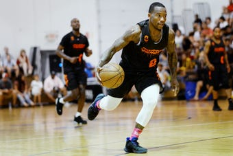 Kay Felder, who played in the NBA last season with the Bulls and Pistons, is a Moneyball Pro-Am regular.