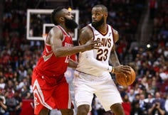 Shot Clock: LeBron James and James Harden a match?