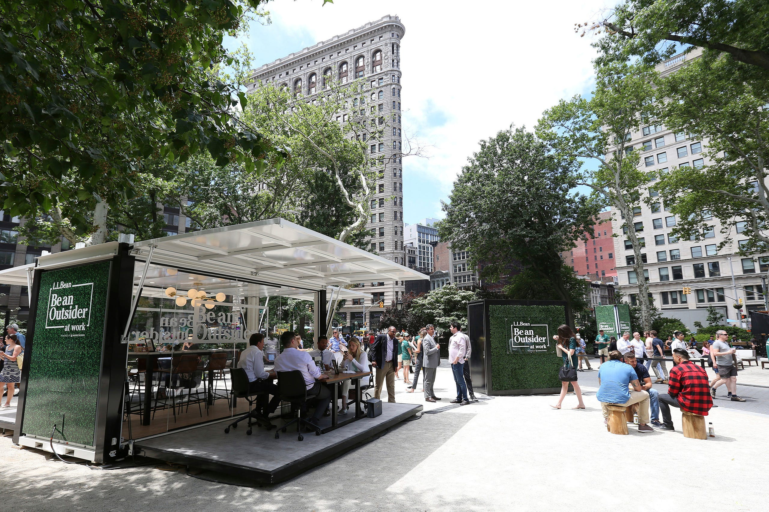 L Bean Debuts The First Ever Outdoor Co Working E In Partnership With Industrious