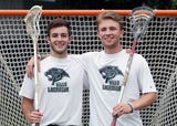Pleasantville's Brian Reda and Declan McDermott are the Journal News/lohud boys lacrosse players of the year June 27, 2018.