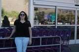 Ana Quintana, 31 of Desert Hot Springs, won a 99 second shopping spree at 99 Cents Only Stores