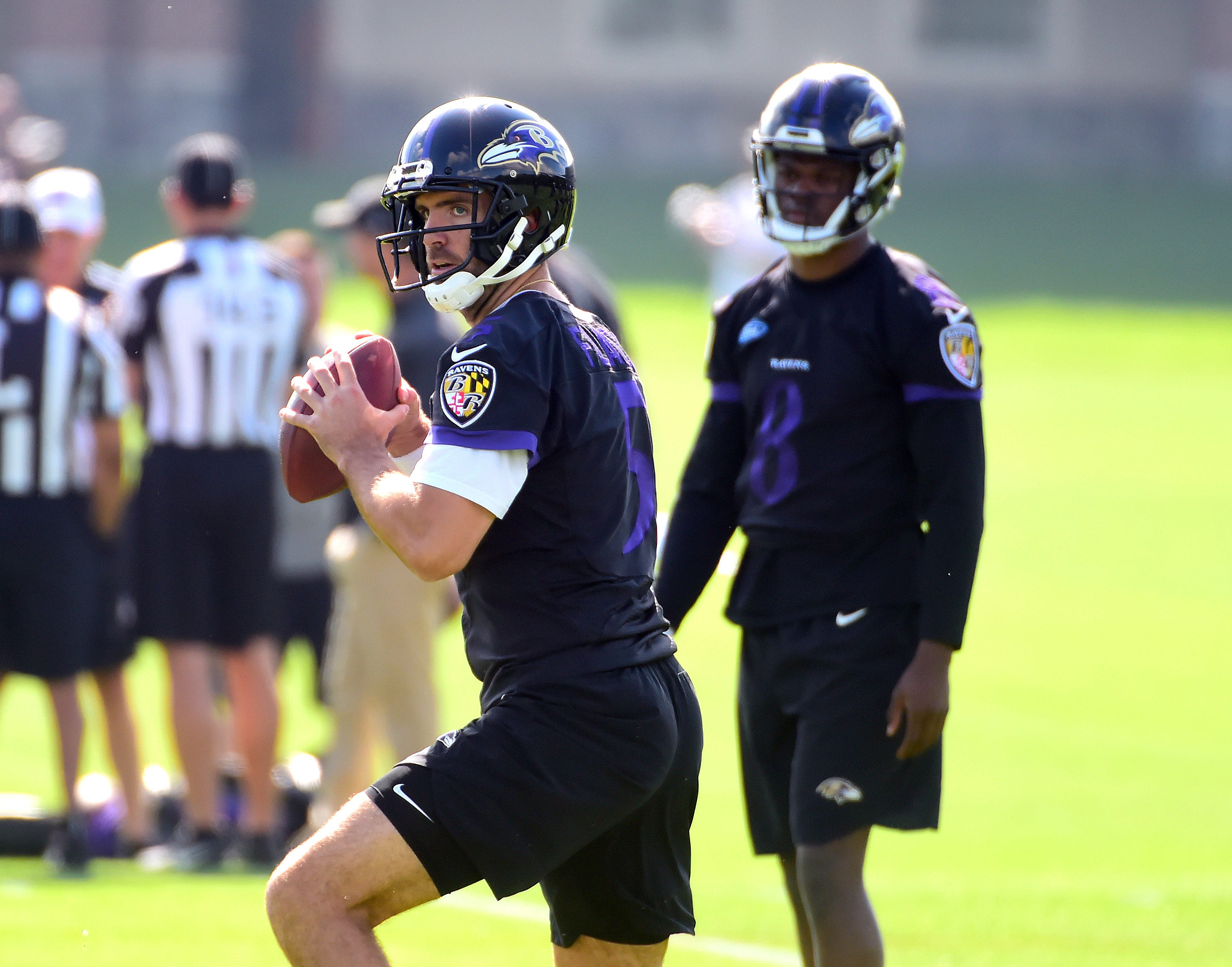 Ravens training camp questions: Can Joe Flacco rebound with new weapons?
