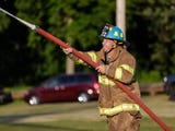 Celebrate Waupun kicked off Friday with area fire departments competing against each other doing some water fighting.
