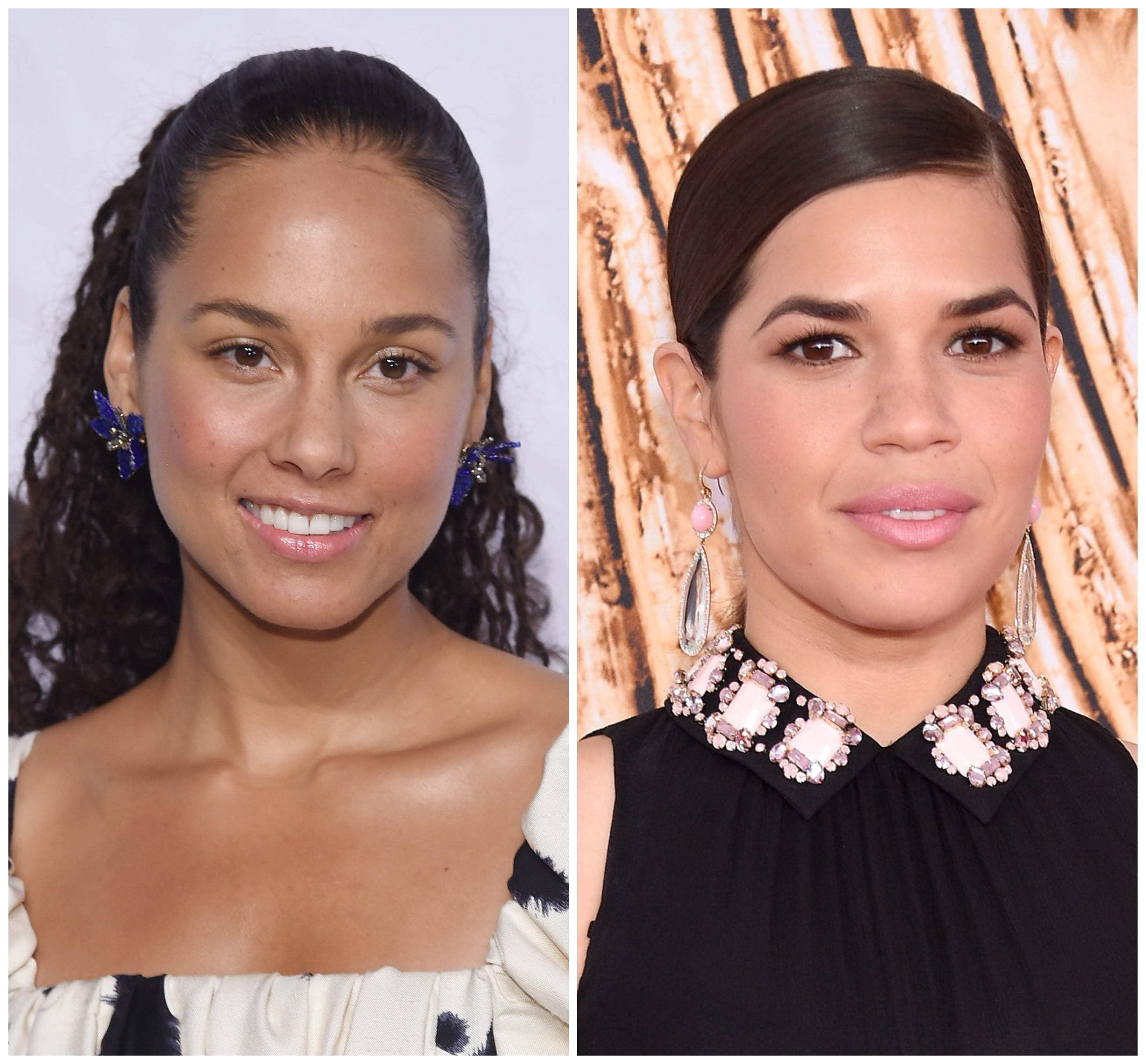 Alicia Keys, America Ferrera give emotional speeches at Families Belong Together march