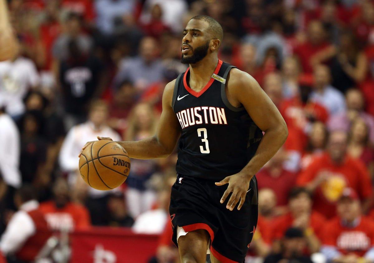 wholesale dealer a8a1b 78230 Chris Paul, Houston Rockets agree on four-year, $160 million ...