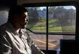 """Cam Hardy, 28, an avid bus rider and president and co-founder of the Better Bus Coalition talks about what's wrong and right with the Metro. """"I just want a bus that's going to come on time and got some decent AC."""""""