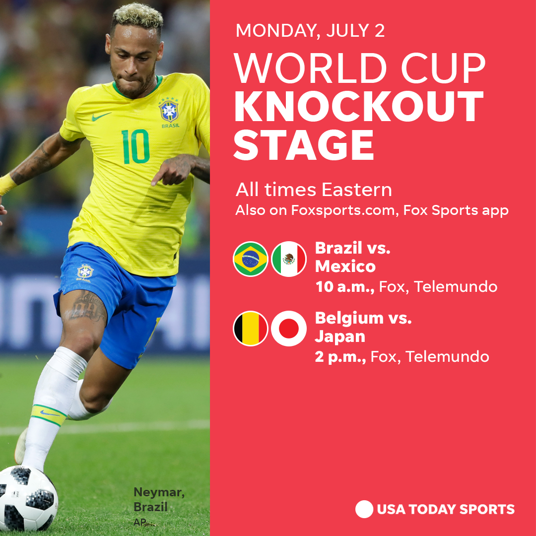 2018 world cup: how to watch, schedule, stories for monday, july 2