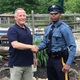 Trooper stops retired police officer who delivered him 27 years ago