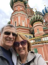 Tim and Mary Callahan traveled to 40 countries in 2 years, by land and sea, breaking a no-fly rule only twice in the vacation of a lifetime.