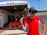 Professional stock car driver Quinn Houff of Weyers Cave walks the track at Shenandoah Speedway, discussing fast cars, the heat, NASCAR, ARCA, and more.