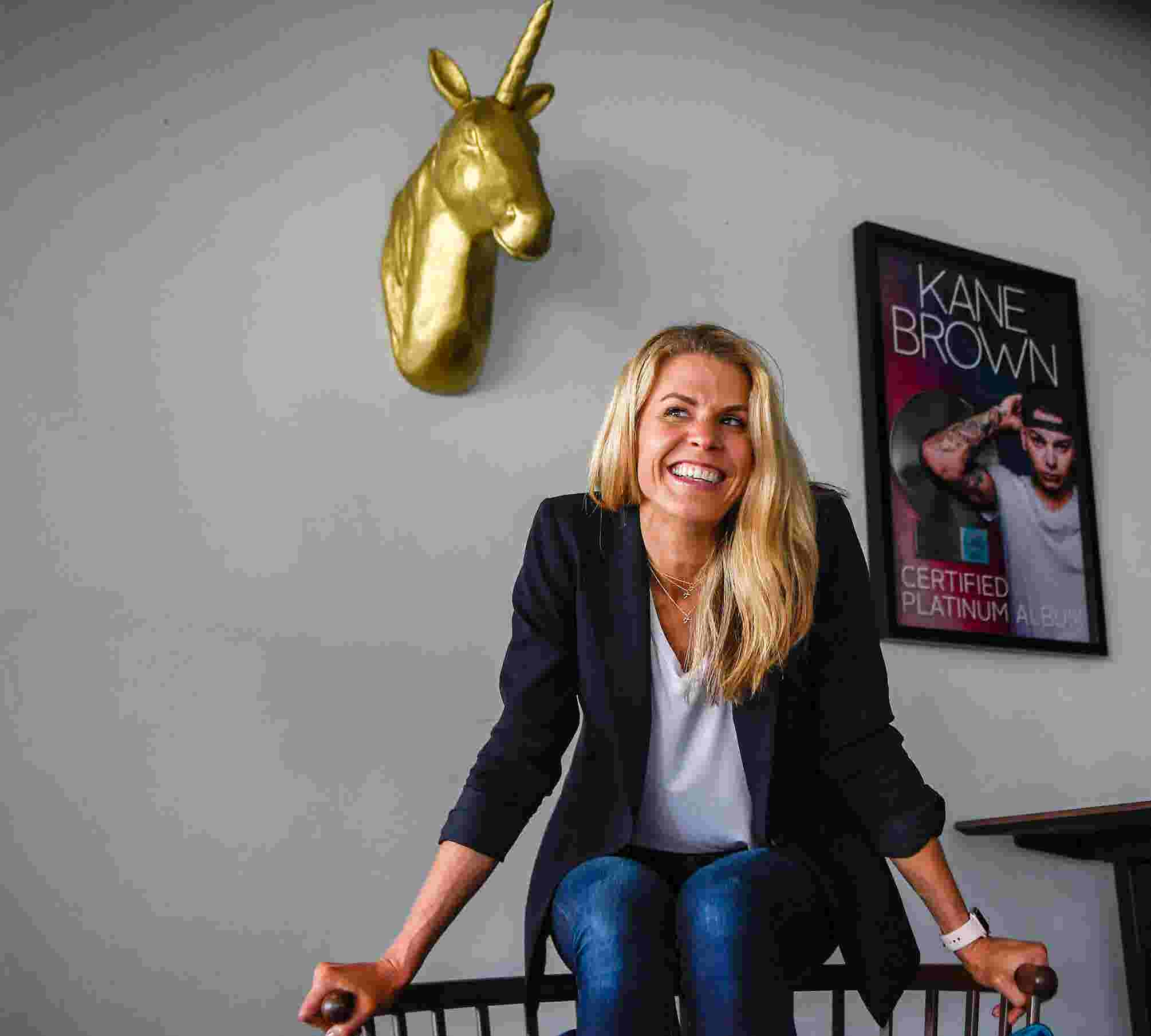 Martha Earls, manager for Kane Brown, lives out country music dream