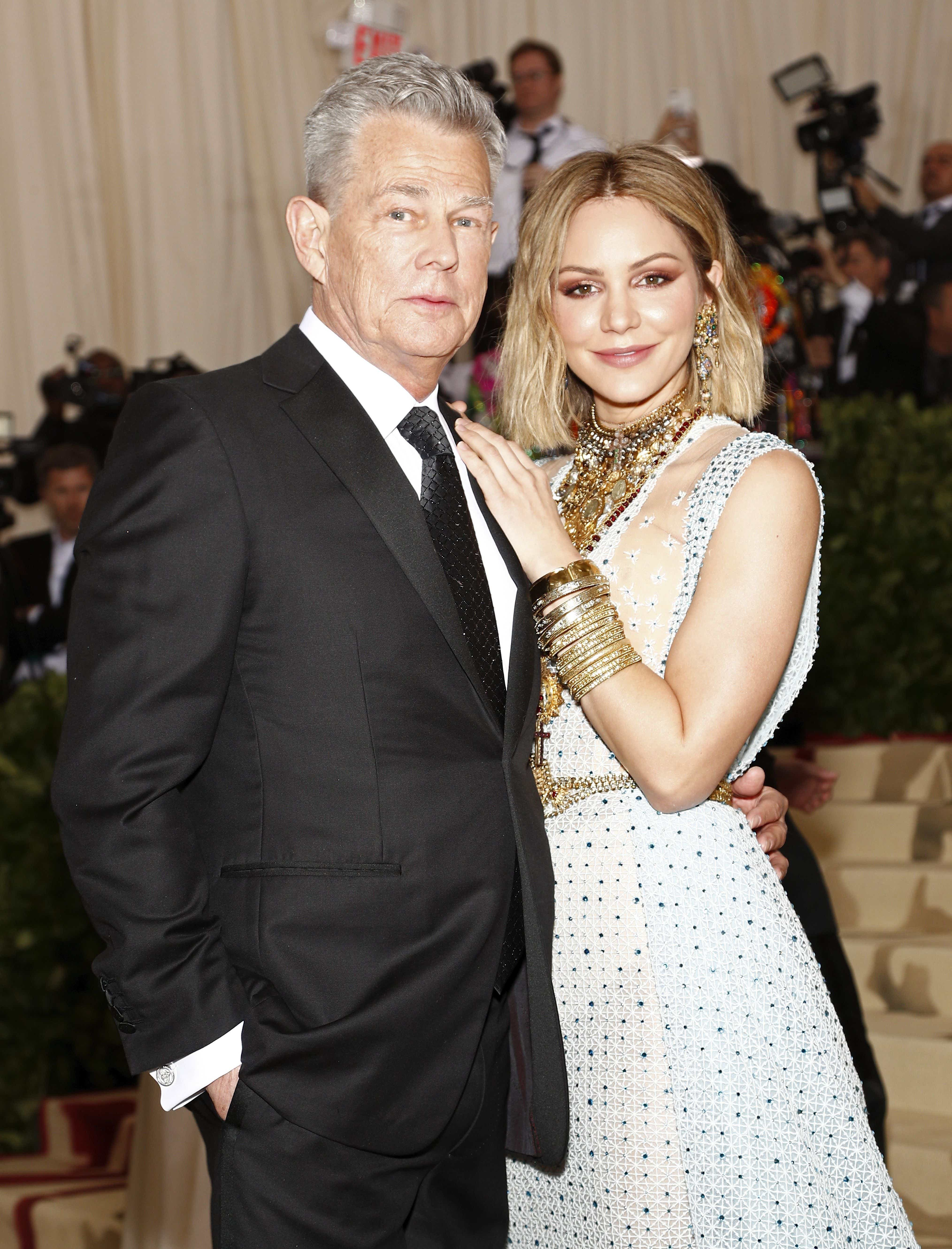 Katharine Mcphee Reminisces About Falling In Love With David Foster