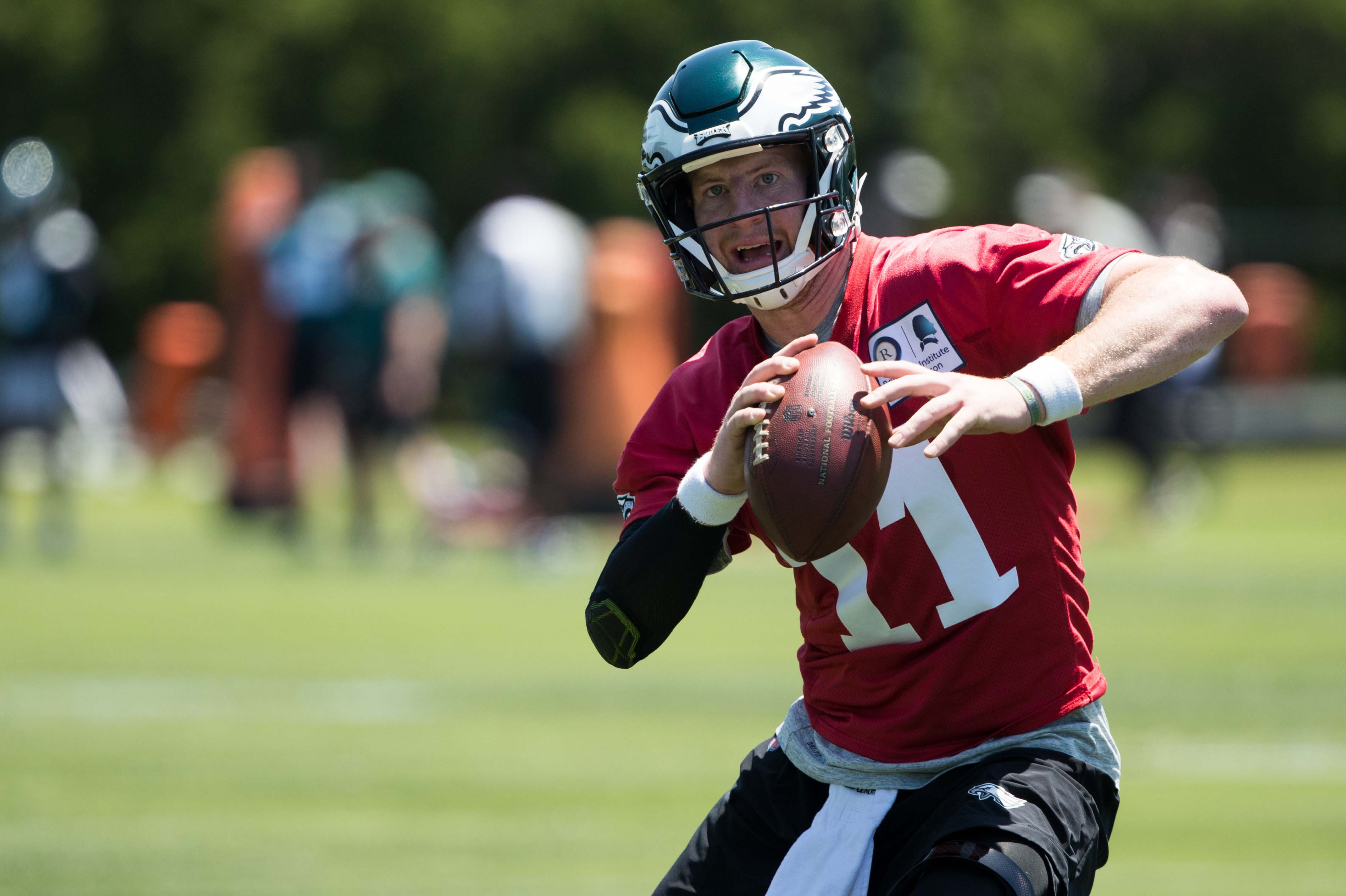 Eagles training camp questions: What can defending champs expect from Carson Wentz?