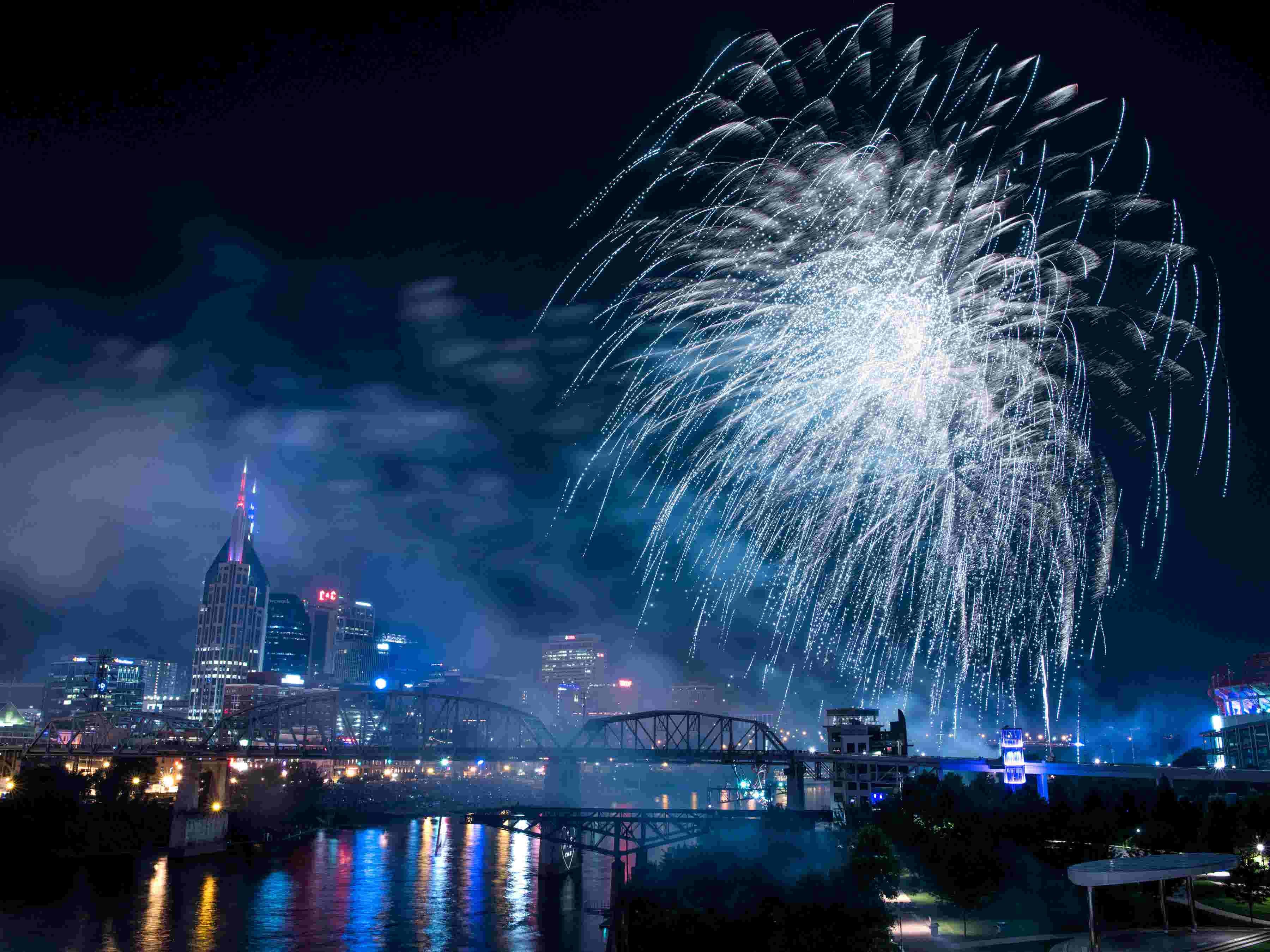Nashville 4th of July fireworks celebration: Over 250,000 attended