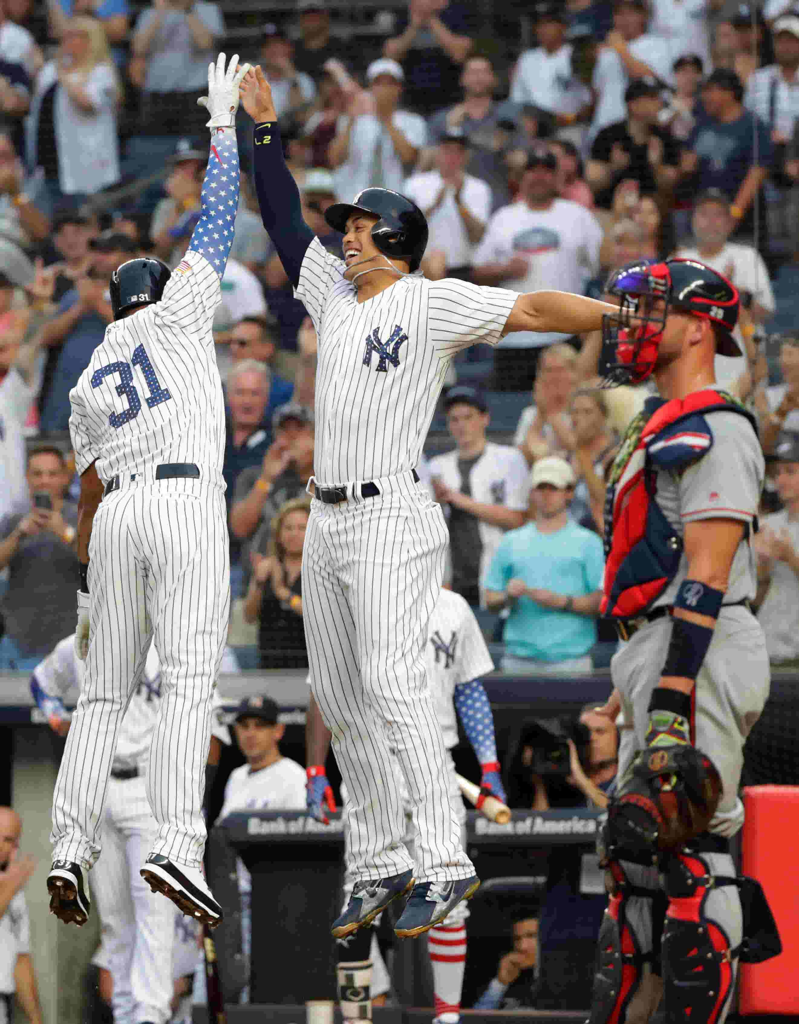 best service 184bf d4422 Aaron Boone discusses the Yankees' holiday win