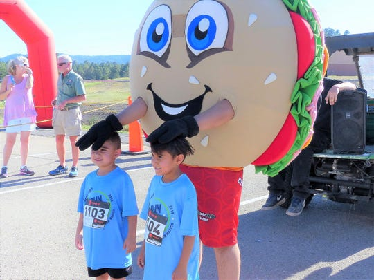 Participants in the annual Schlotzsky's Bun Run 5K and Kids Race at The Links pathway, as well as the marathon and half-marathon in Ruidoso draw big crowds each year.